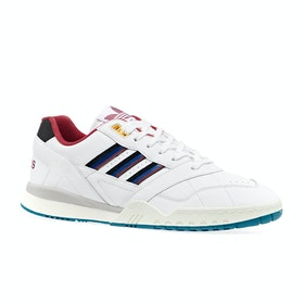 Adidas Originals A R Trainer Shoes - White Burgundy Royal