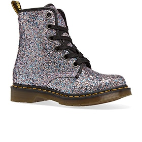 Dr Martens 1460 Farrah Chunky Glitter Womens Boots - Multi Blue