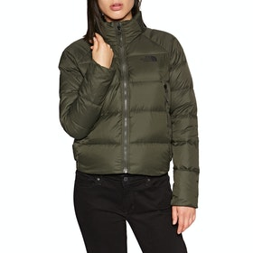North Face Crop 550 Womens Down Jacket - New Taupe Green