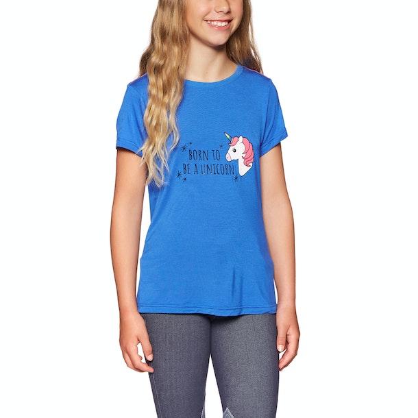 Derby House Unicorn Bamboo Cotton Childrens Short Sleeve T-Shirt