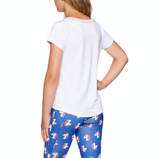 Derby House Unicorn Bamboo Cotton Kids Short Sleeve T-Shirt