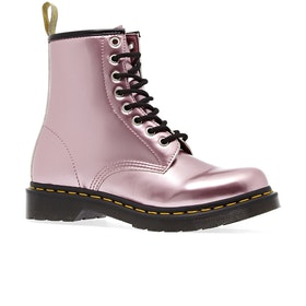 Dr Martens 1460 Vegan Chrome Boots - Pink Goldmix