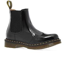 Dr Martens 2976 Patent Lamper Womens Boots - Black