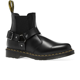 Dr Martens Wincox Womens Boots - Black Polished Smooth