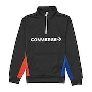 Converse Colourblock Track Quarter Zip Jacket Boys Zip Hoody