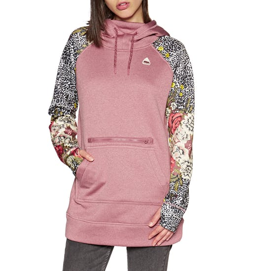 Burton Oak Long Womens Pullover Hoody
