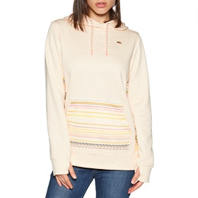Burton Oak Womens Pullover Hoody - Crmhtr/crerev