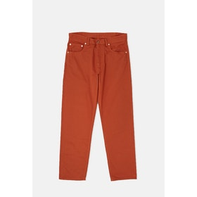 Levi's Vintage Lvc 5 Pocket Sateen Trousers - Rooibos Tea