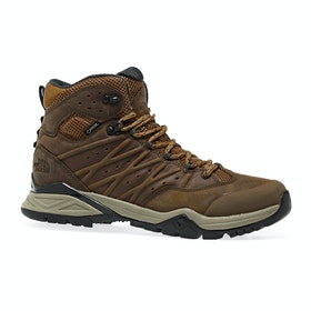 North Face Hedgehog Hike II Mid GTX Walking Boots - Timber Tan India Ink