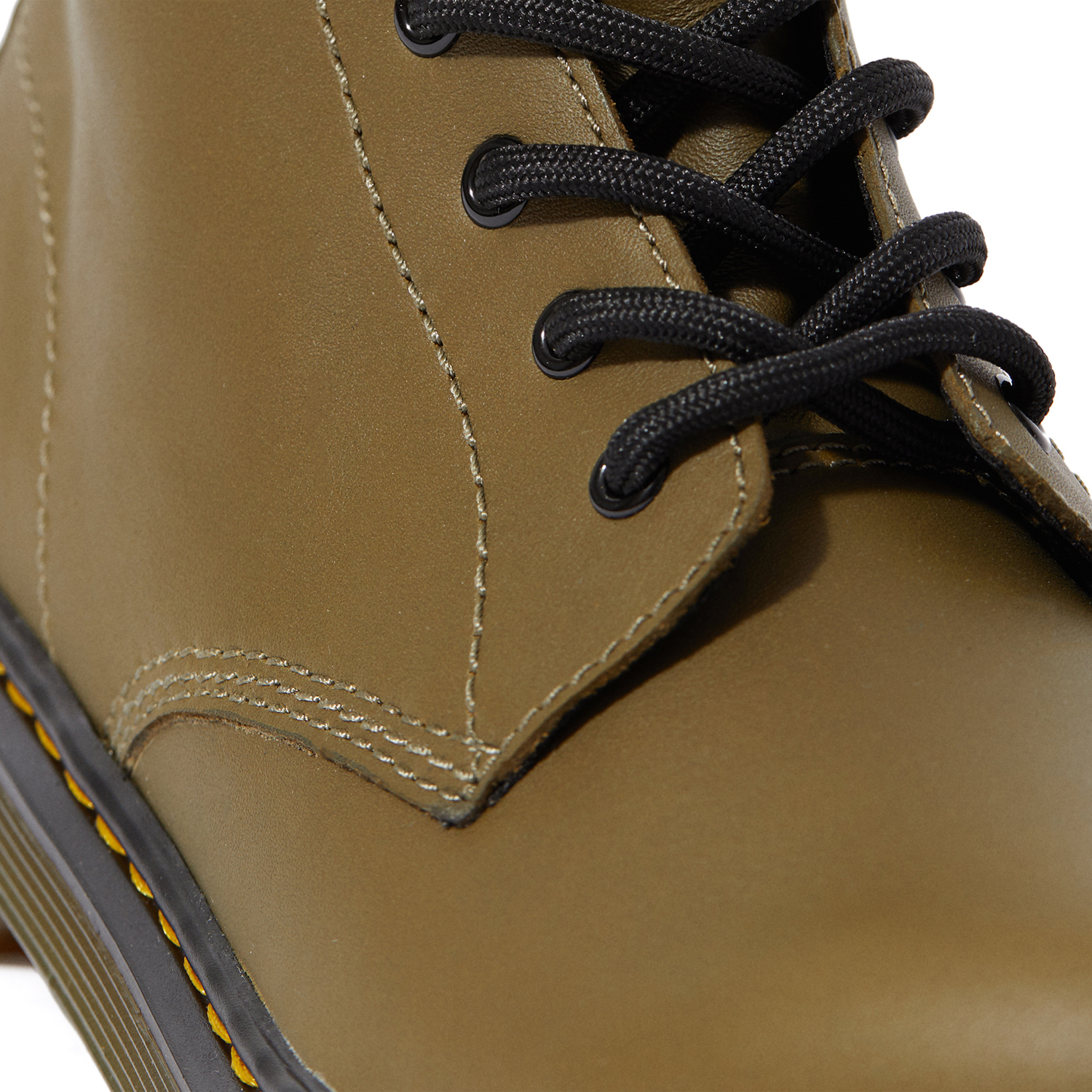 Dr Martens 1460 Smoother Finish Kinder Stiefel Dms Olive