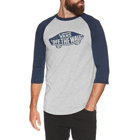 Vans OTW Raglan Long Sleeve T-Shirt - Athletic Heather Dress Blues
