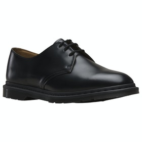 Dr Martens Archie II Smooth Dress Shoes - Black Polished