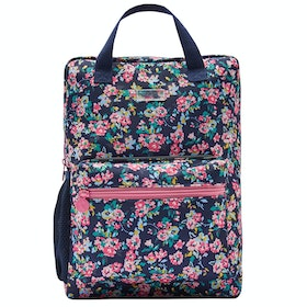 Joules Easton Girl's Backpack - Navy Ditsy Floral