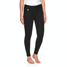 Derby House Pro Gel Winter Ladies Riding Tights - Black