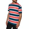Diamond Supply Co Mini Og Script Striped Short Sleeve T-Shirt - Coral