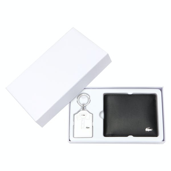 Lacoste Billfold Wallet and Keyring , Gift Set