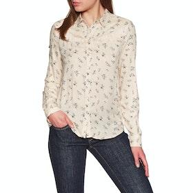 Superdry Jolene Western Shirt Womens Shirt - Pink Print