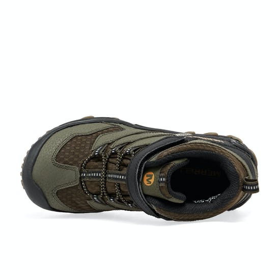 Merrell M-chameleon 7 Mid A/c Wtrpf Kids Walking Shoes