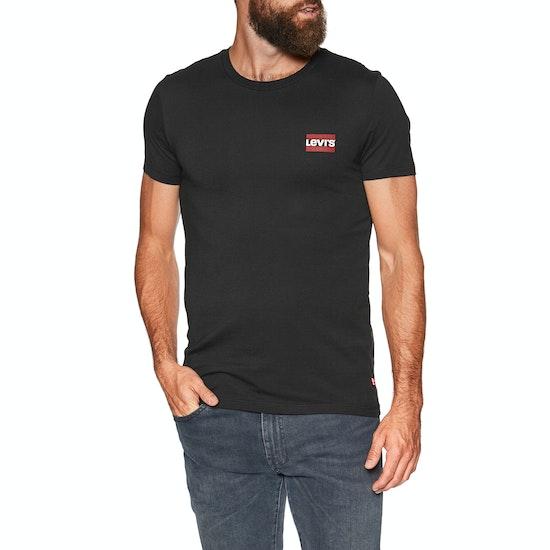T-Shirt à Manche Courte Levi's 2 Pack Crewneck Graphic