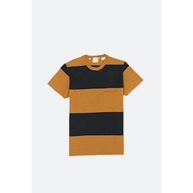 Levi's Vintage 1960's Casuals Stripe S S T-Shirt - Black Gold Multi