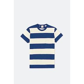 Levi's Vintage 1960's Casuals Stripe S S T-Shirt - Blue White Multi