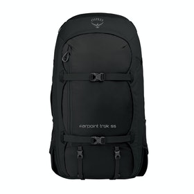Osprey Farpoint Trek 55 Hiking Backpack - Black