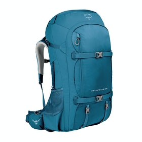 Osprey Farpoint Trek 55 Hiking Backpack - Petrol Blue