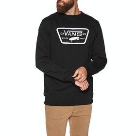 Sweater Vans Full Patch Crew II - Black