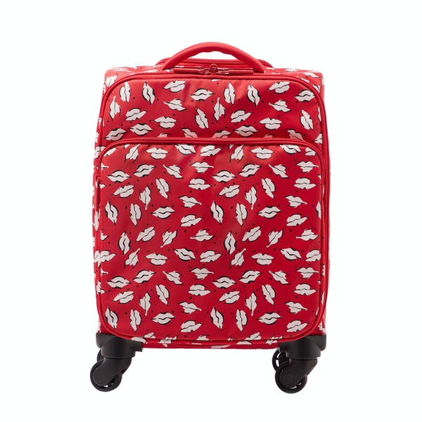 Bagage Femme Lulu Guinness Beauty Spot Felicity Trolley Case