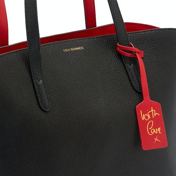 Sac à main Femme Lulu Guinness Leather Agnes Tote