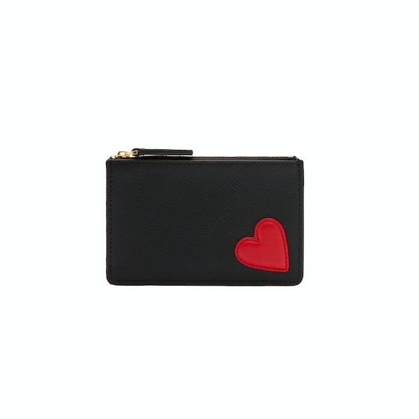 Card Holder Femme Lulu Guinness Heart Lottie Pouch