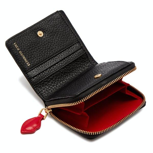 Portefeuille Femme Lulu Guinness Leather Portia