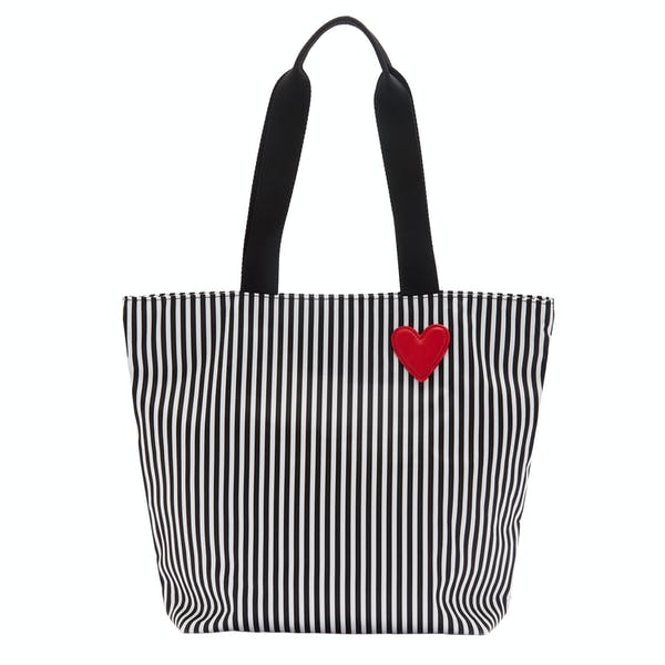 Lulu Guinness Hearts Stripes Bea Tote Women's Shopper Bag
