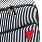 Bagage Lulu Guinness Hearts Stripes Felicity Trolley