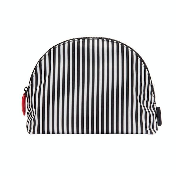 Lulu Guinness Hearts And Stripes Crescent Women's Accessory Case