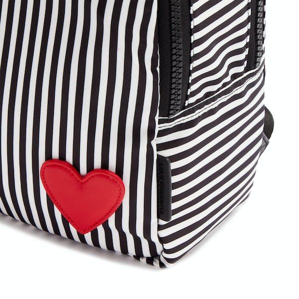 Sac à Dos Lulu Guinness Hearts And Stripes Sadie