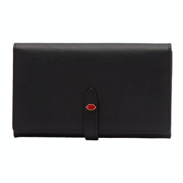 Lulu Guinness Lip Pin Juno Women's Wallet