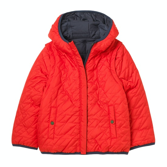 White Stuff 2 In 1 Reversible Puffer Boys Jacket