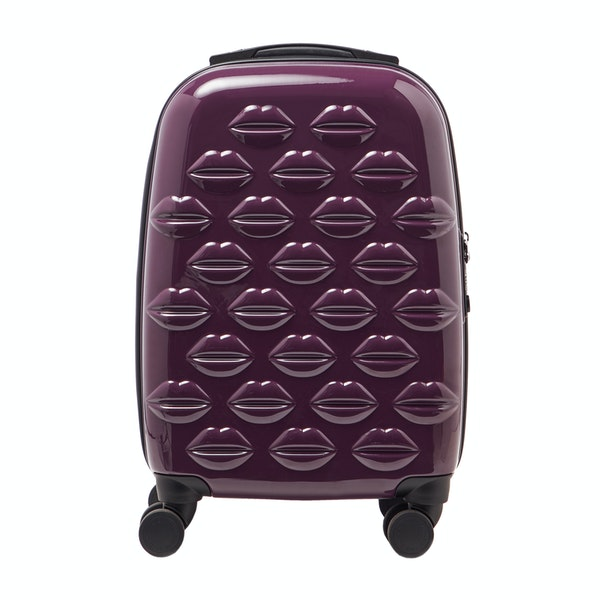 Lulu Guinness Small Lips Hardside Spinner Case Women's Luggage