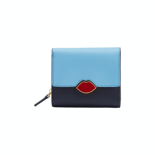 Portefeuille Femme Lulu Guinness Leather Saffie