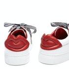 Lulu Guinness Leather Lips Natasha Women's Shoes