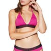 Haut de maillot de bain Calvin Klein Fixed Triangle - Beetroot Purple