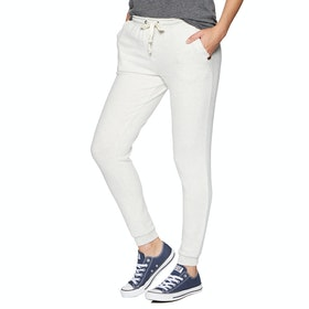 Rip Curl Cosy Track Jogging Pants - White Marle