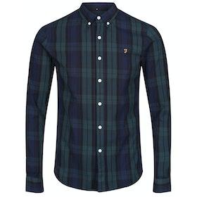 Farah Brewer Tartan Shirt - Gillespie Green