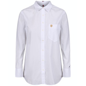 Tommy Hilfiger Essential Girlfriend Women's Shirt - Bright White