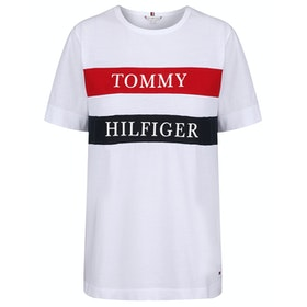 Tommy Hilfiger Lula C-nk Short Sleeve T-Shirt - Bright White