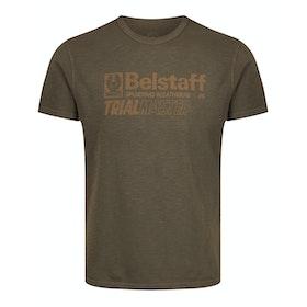 Belstaff Trialmaster Graphic Short Sleeve T-Shirt - Windsor Moss