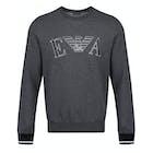 Emporio Armani Crew Neck Logo Sweatshirt Knits