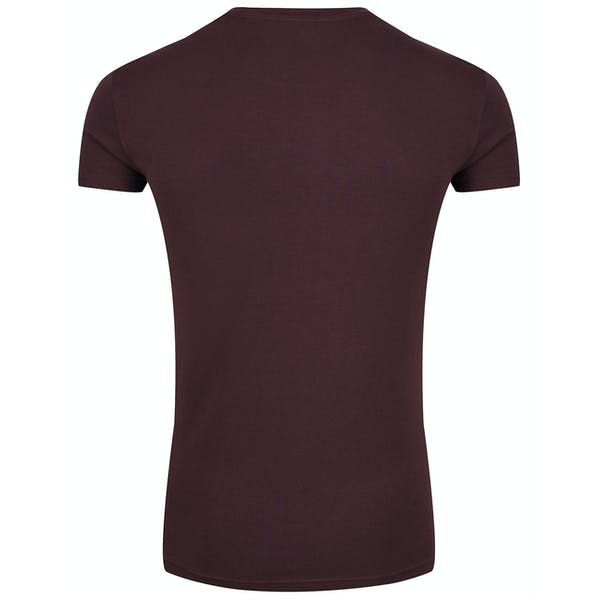 Emporio Armani Crew Neck Stretch Knit Kurzarm-T-Shirt
