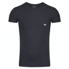 Emporio Armani Cotton Knitted Short Sleeve T-Shirt